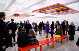 Liam-Gillick-Discussion-Benches-Casey-Kaplan-Gallery-Exhibition-View