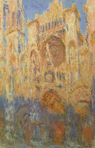 656px-Claude_Monet_-_Rouen_Cathedral,_Facade_(Sunset)